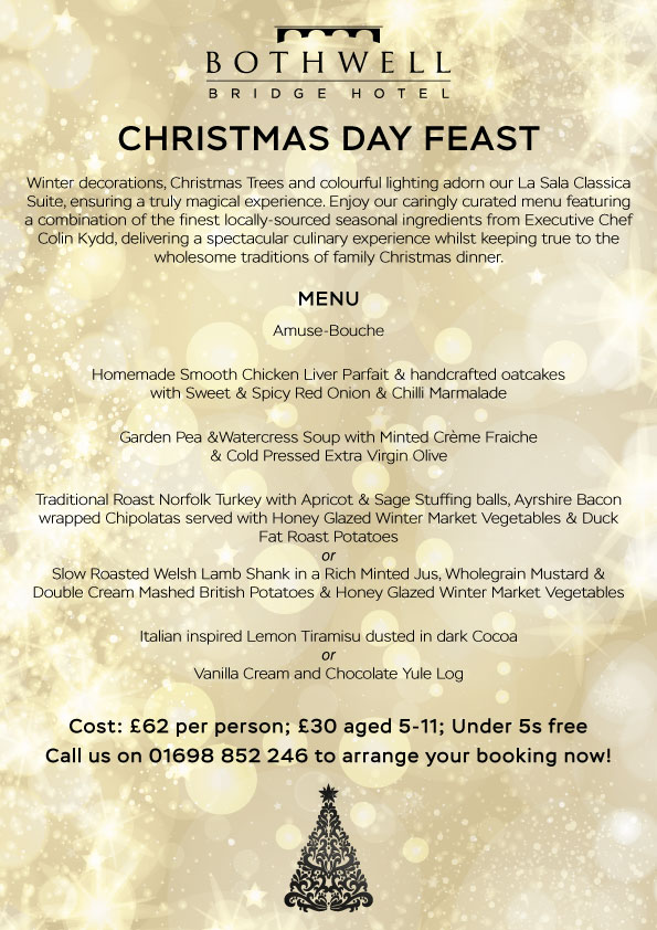Click Here To View The Christmas Day Menu