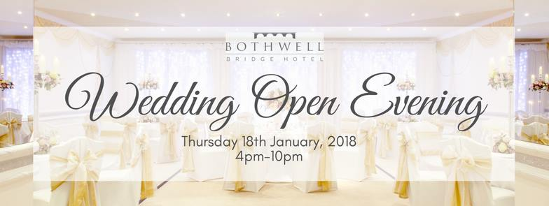 Wedding Open Evening (18th January)