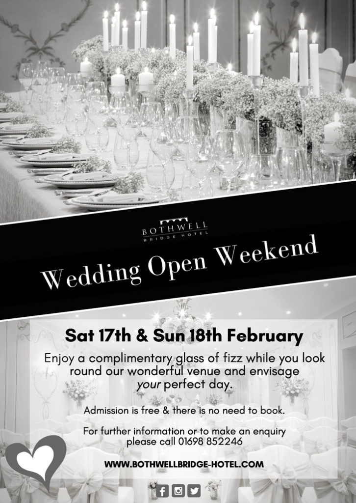Wedding Open Weekend (17th & 18th February)