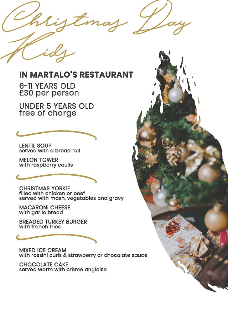Bothwell Bridge Christmas Brochure 2019 - Christmas Day Martalo's Kids
