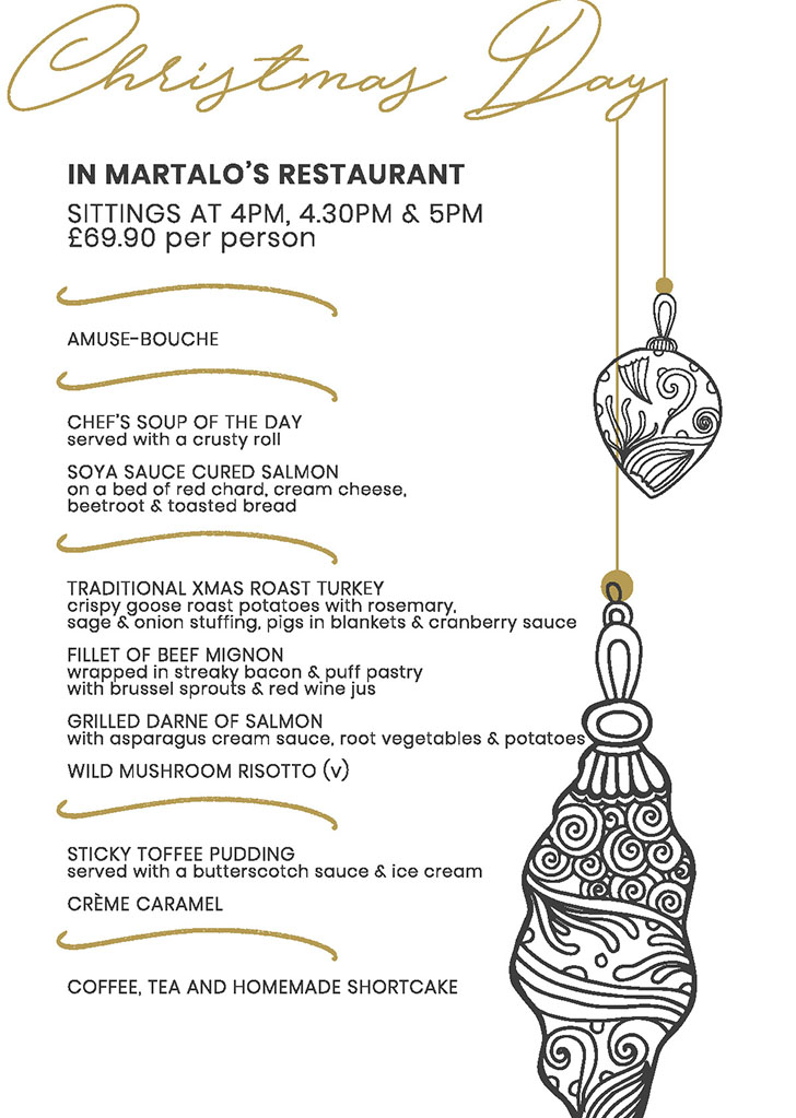Bothwell Bridge Christmas Brochure 2019 - Christmas Day Martalo's
